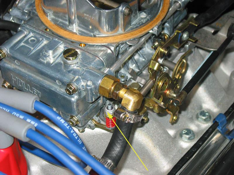Holley accelerator pump adjustment - Vintage Mustang Forums